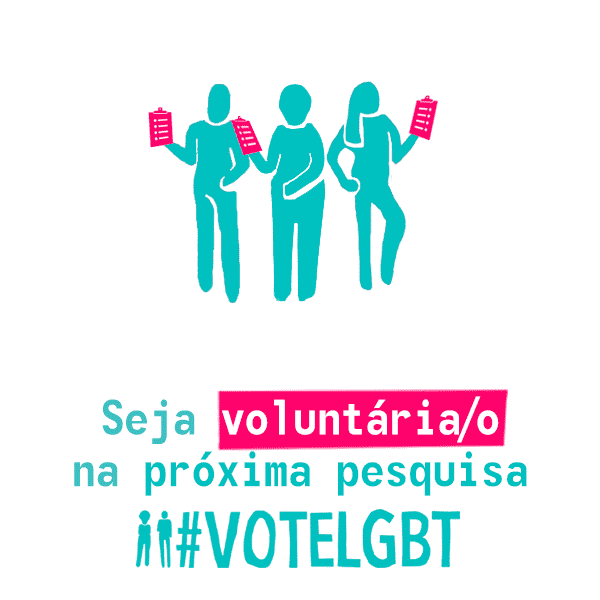Pesquisas #VoteLGBT - Desde 2016 realizamos pesquisas nos eventos LGBT+ da região sudeste, sempre com o apoio dos pesquisadores do GPoPAI e com a ajuda de muitas pessoas que se voluntariam. Aqui você vai poder baixar todos os nossos relatórios e os microdados de todos os eventos em que realizamos pesquisas para poder fazer seus próprios cruzamentos e estudos. Acreditamos que os dados devem ser públicos e transparentes. Depois, compartilhe com a gente seus achados. Vamos adorar saber! <3