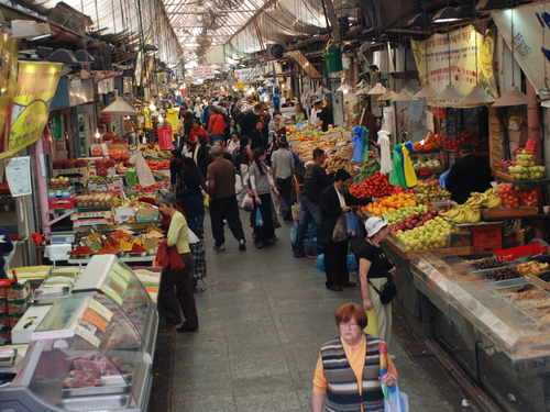 Few places illustrate abundance like the Mahane Yehuda market (shuk) in Jerusalem!