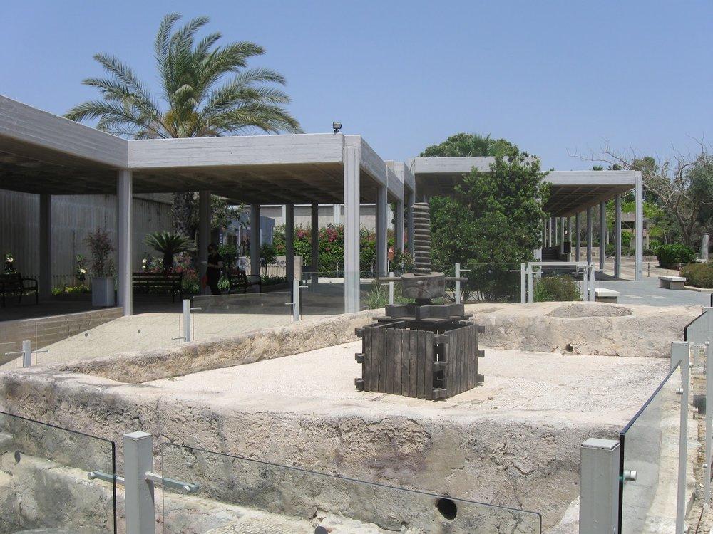 Eretz Israel Mussum at Tel Qasile in Tel Aviv.
