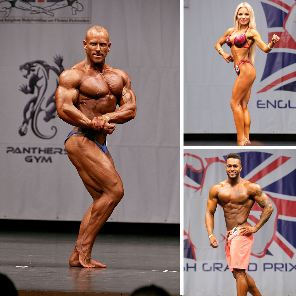 UKBFF Competition Tanning -