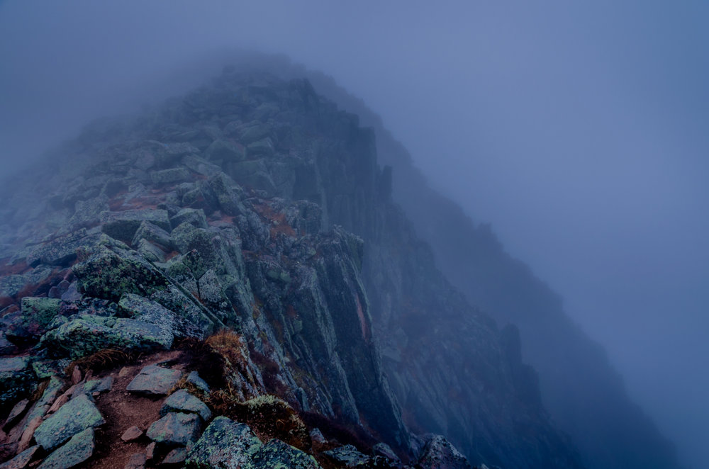 Knifes Edge, Mt. Khatadin, Maine