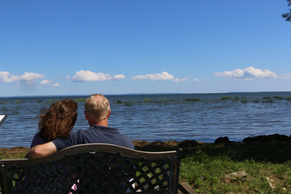 My wife and I enjoying the wonderful views this area has to offer.