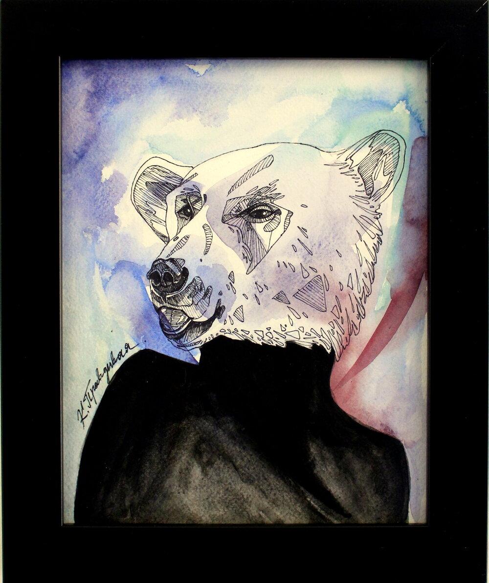 Vulnerable Polar Bear