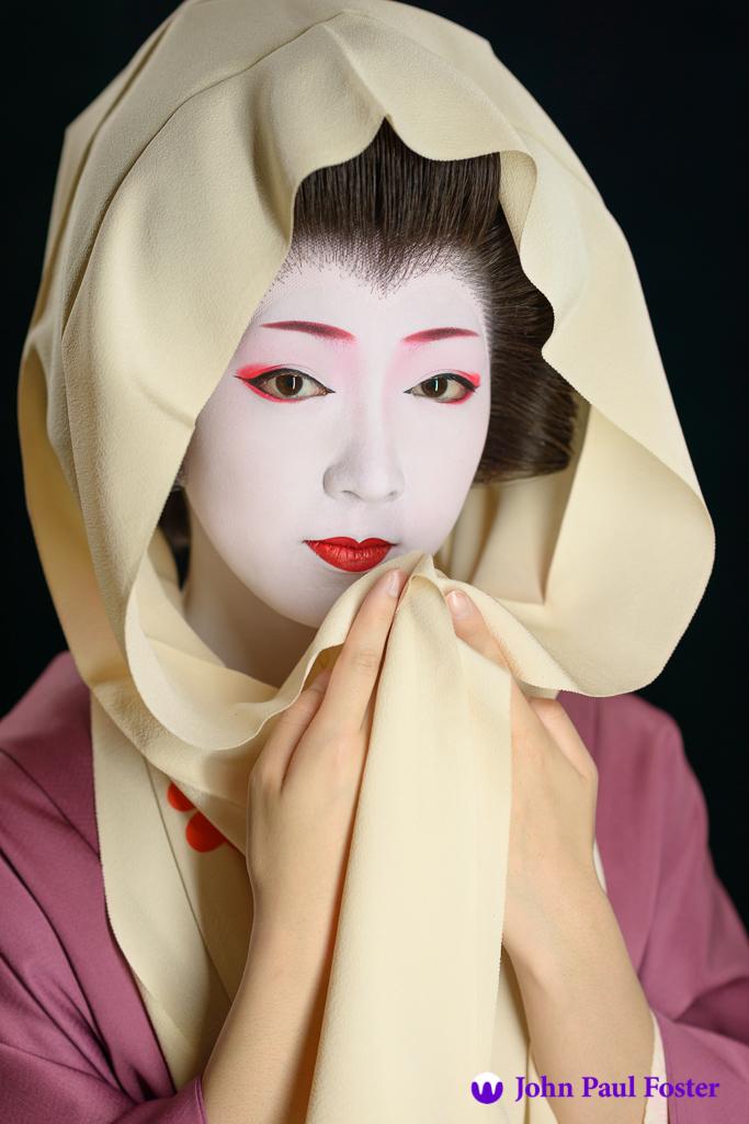 The geisha Toshikana of Miyagawa-cho in June 2014