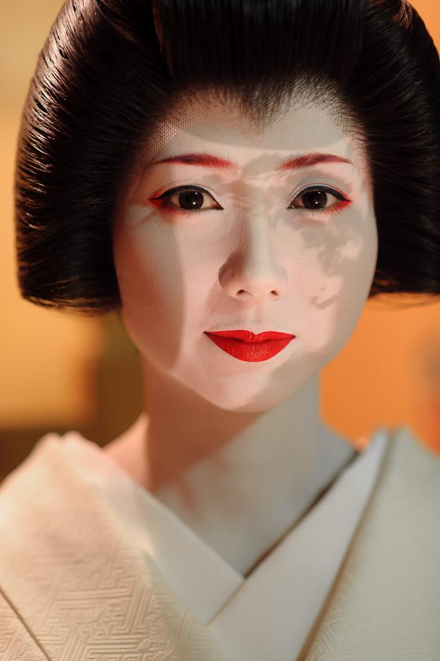A Portrait of the Geisha Mamehana of Gion Kobu