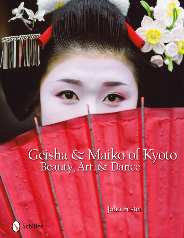 The final cover of Geisha and Maiko of Kyoto