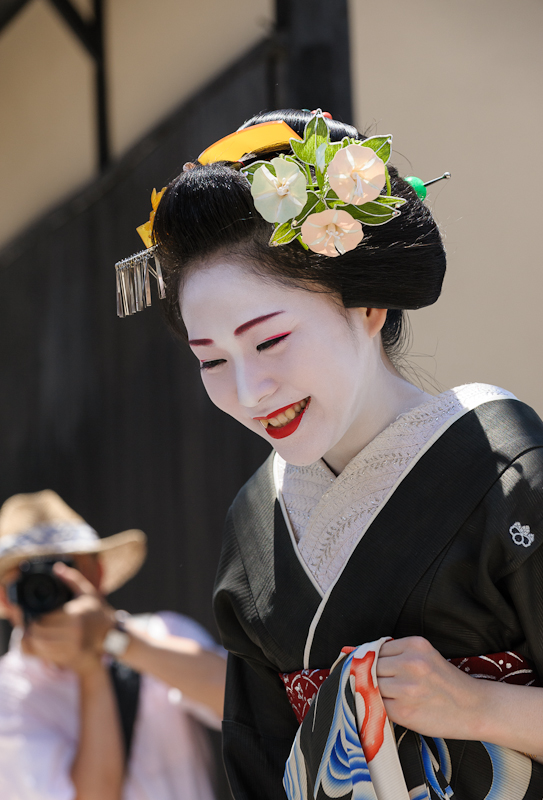 Hassaku in Gion Kobu in Kyoto, Japan