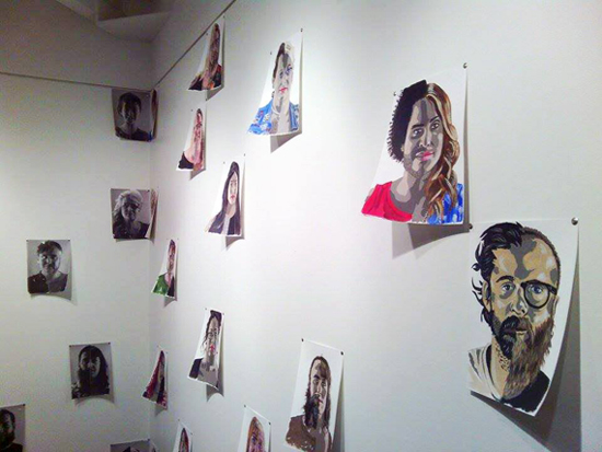 Face 2 Face, Todd Duane Miller and JW Caldwell, July 16 – August 10, 2014. Image by JK Russ.