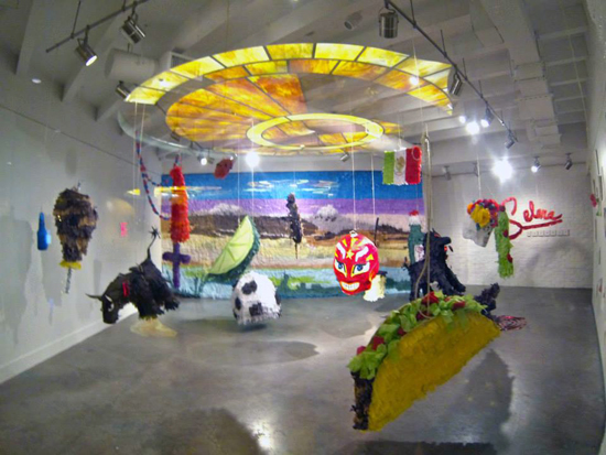 Piñatatopia, Justin Favela, September 10 – October 5, 2014. Image by JK Russ.