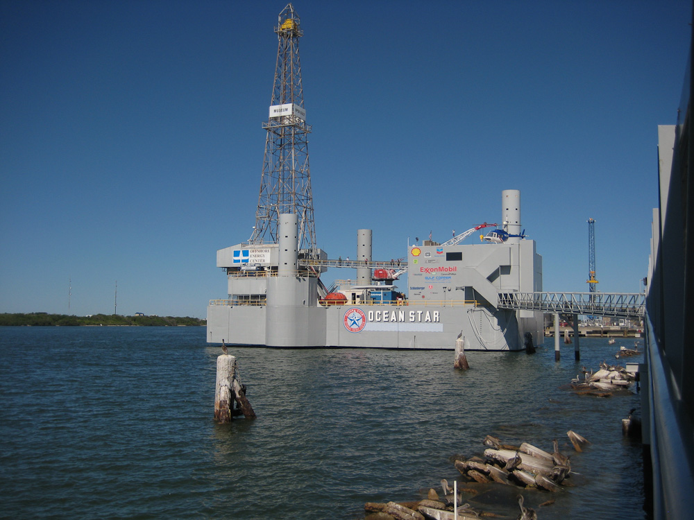 Ocean Star Offshore Drilling Rig and Museum, Galveston, Texas
