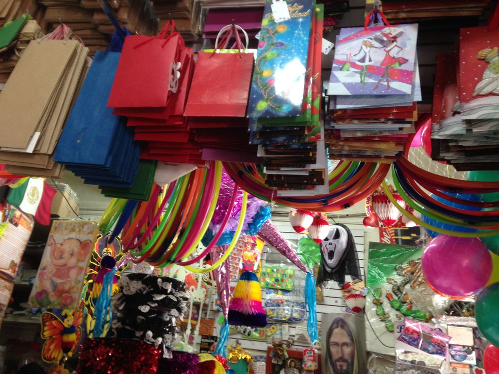The inside of a Papeleria (Paper shop) on Ave 8 Oriente (where most of the paper shops are located). Photo courtesy Justin Favela