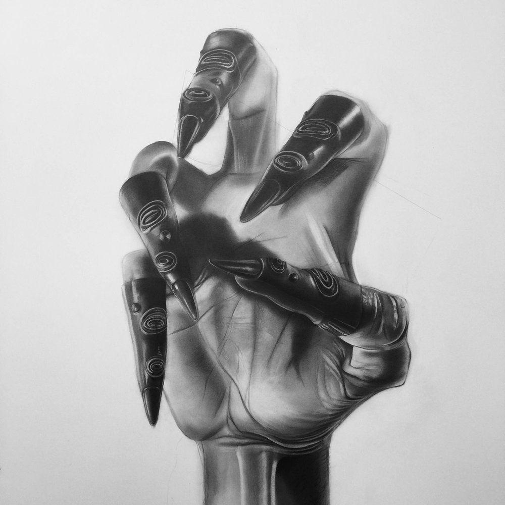 Daniel Samaniego, graphite on paper (Image courtesy the artist).
