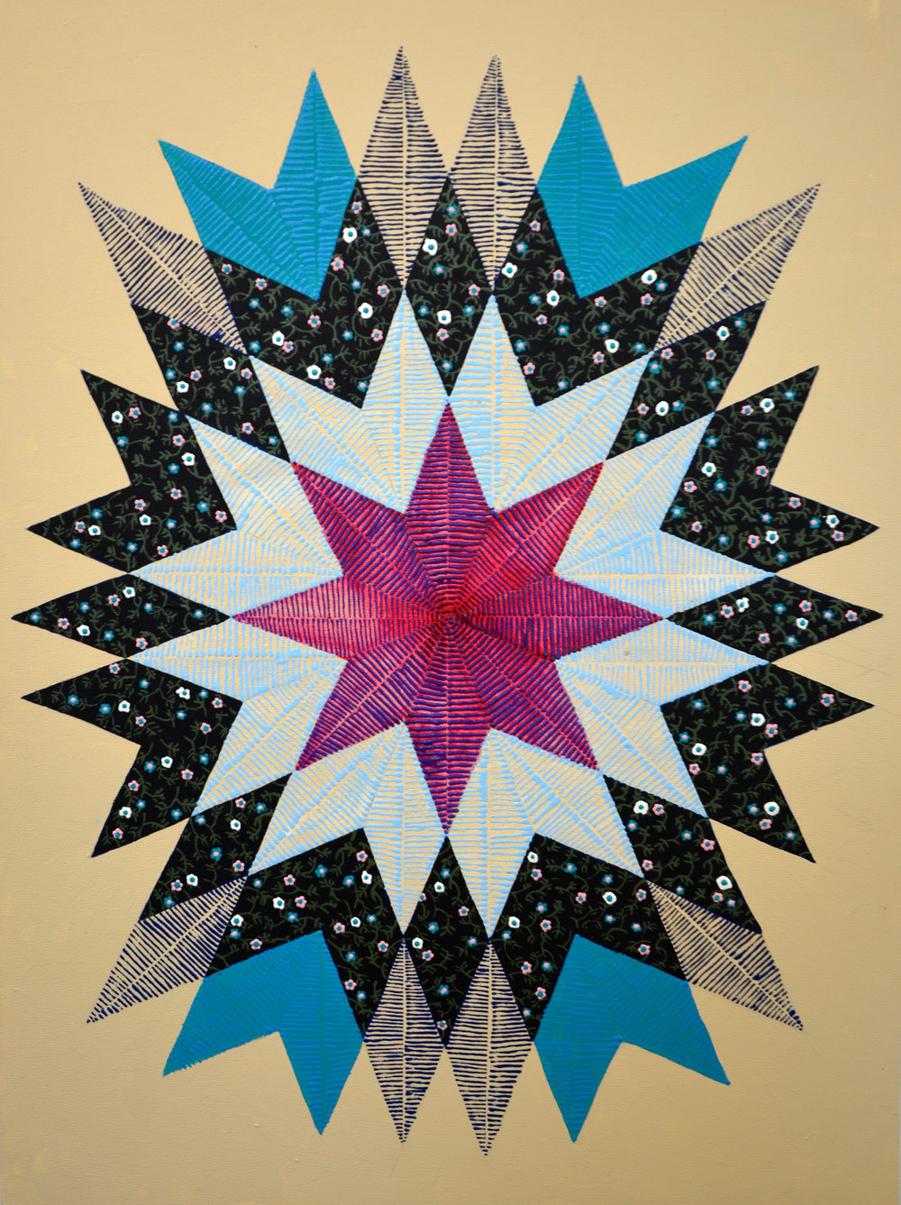 Noelle Garcia, Star Pattern, at Aesthetics Primary at the Fifth Street School