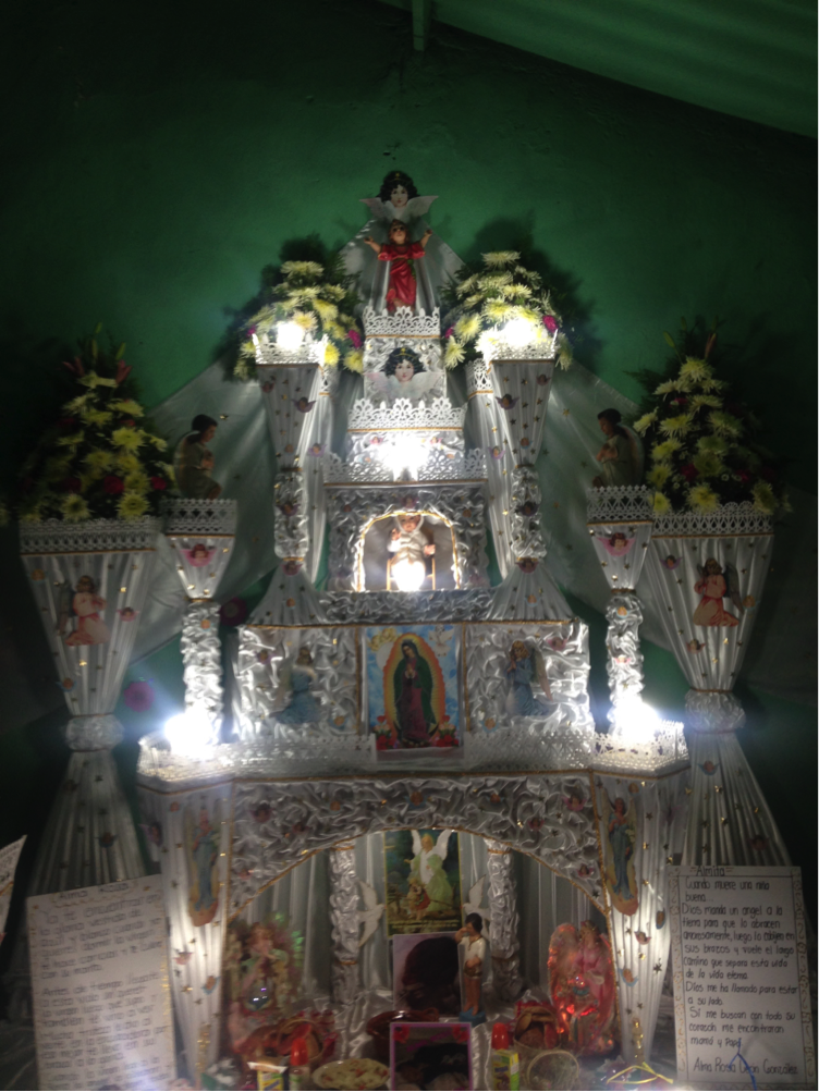 An altar from Huaquechula, 2015
