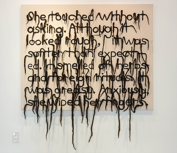 Lisa Diane Wedgeworth, Hair Text No. 1, 2014