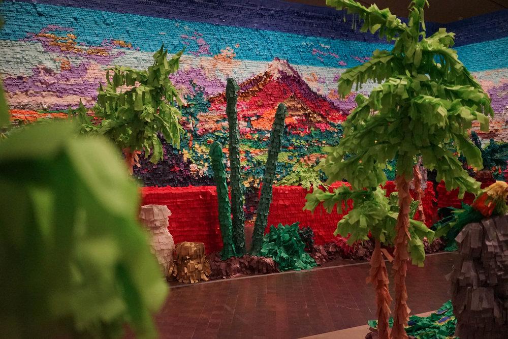 Justin Favela, Fridalandia at the Denver Art Museum. Courtesy the artist.