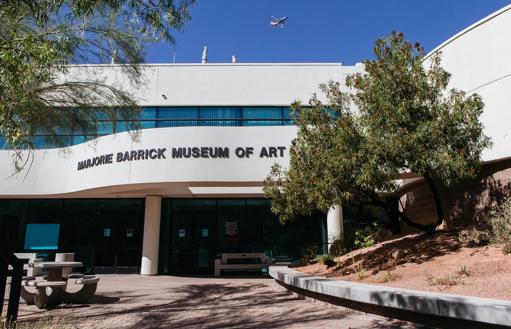 The Marjorie Barrick Museum of Art on October 2, 2017. Photo Mikayla Whitmore.