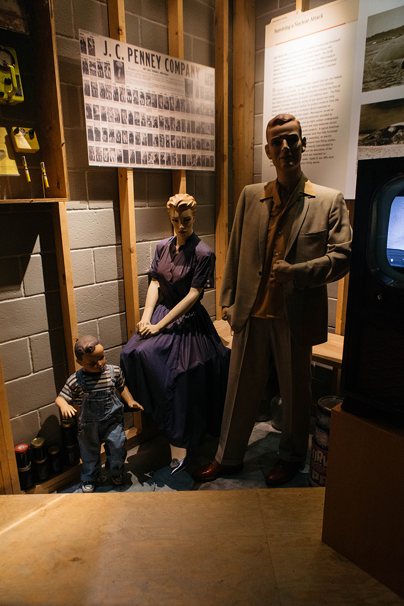 A look inside the Atomic Testing Museum in Las Vegas, Nev. on August 14, 2017. Photo Mikayla Whitmore.