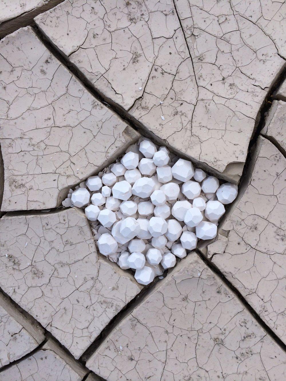 Slentz | Desert Mud Geode | earth, ceramic