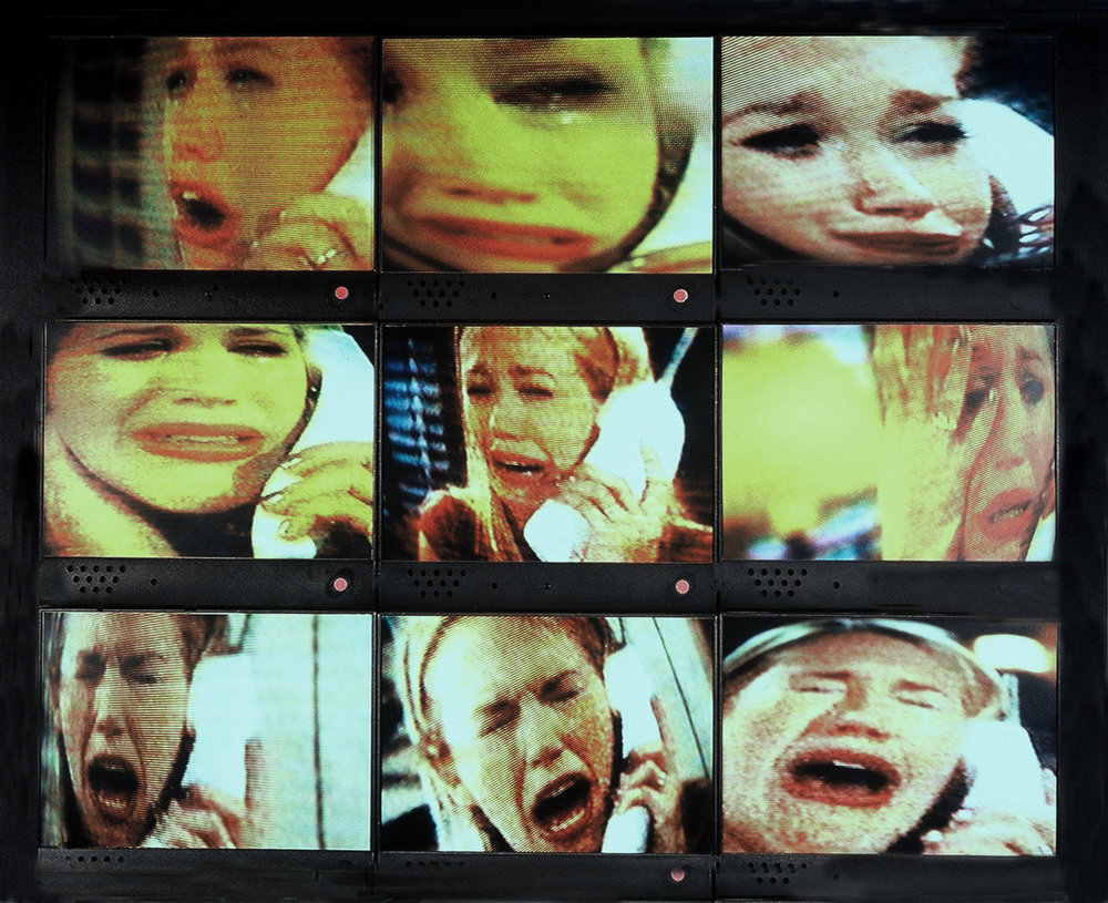 "Diane Bush | You Stole My Baby! | photographs and audio | from the series, ""500 Channels"""