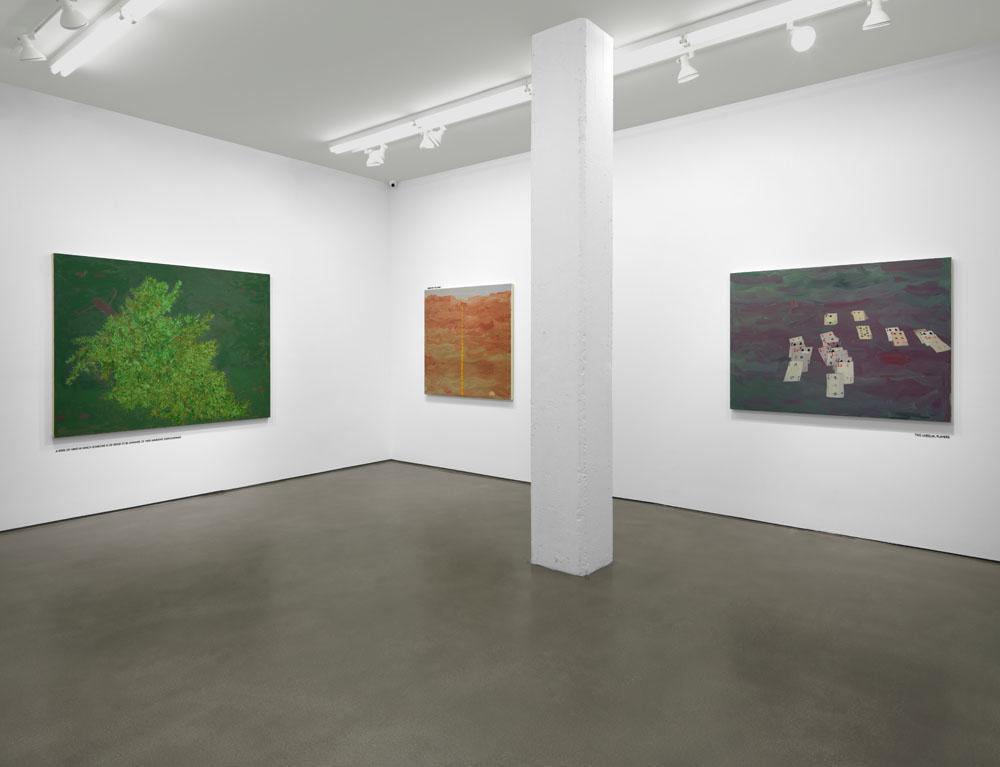Kerlin | installation view, Zach Feuer Gallery, New York