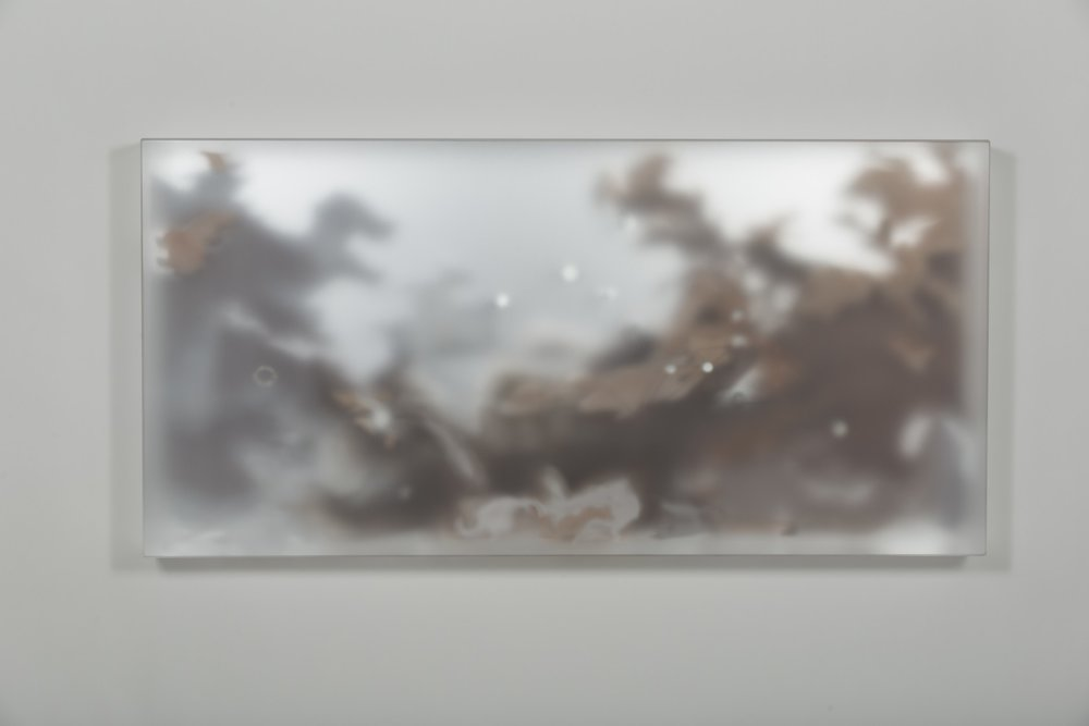 Morey | Zenith | Frosted Plexi, Mirrored Plexi, Mylar, Vellum, Paint