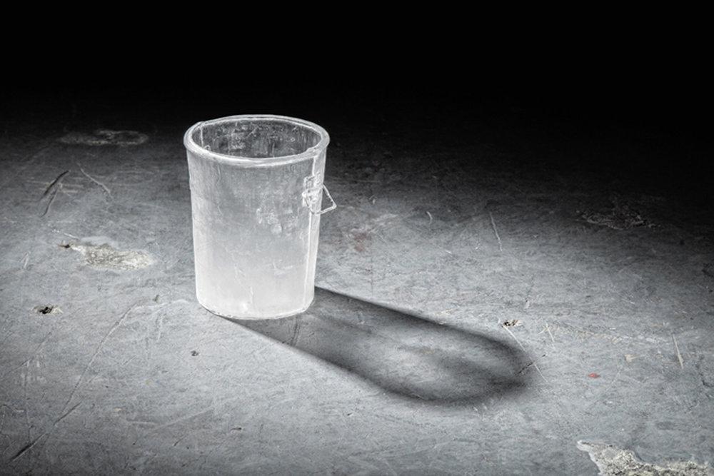 Sommerhauser | bucket | blown glass