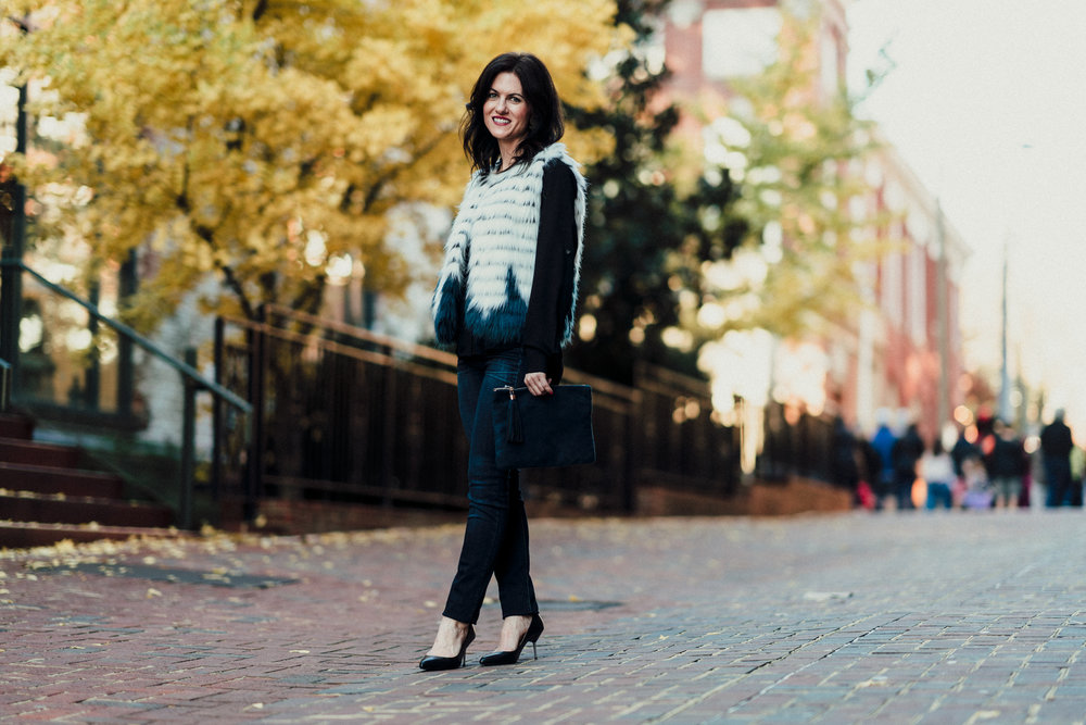 Fall Outerwear Style Inspo | Photo by Tristan Williams for Darling Boutique
