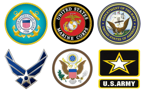 Click the image above to search Military Careers by industry, salary and skills. Learn more about the various service branches and military benefits, including paying for college.