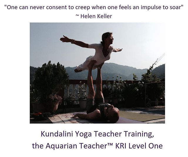 """""""At the conclusion of the course you will not only have the knowledge and skills to begin teaching Kundalini Yoga if you so desire, but you will have journeyed through a deep and profound transformational process that will foster within you a greater capacity for self-healing, purposeful living, happiness, inner peace and authenticity"""" ~ Michele O'Shea, Studio Owner."""
