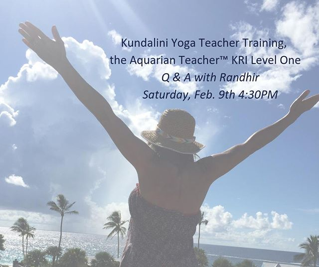 """""""How We Hurt Ourselves & Others Through The Ego & How to Stop"""" Advanced Kundalini Yoga Workshop with Guest Teacher, Randhir, Sun. March 24th 2-4:30PM"""
