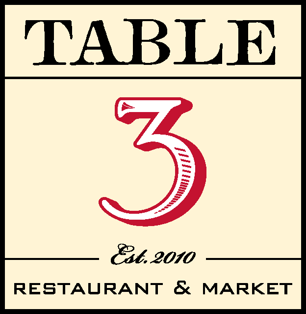 Table 3 Restaurant
