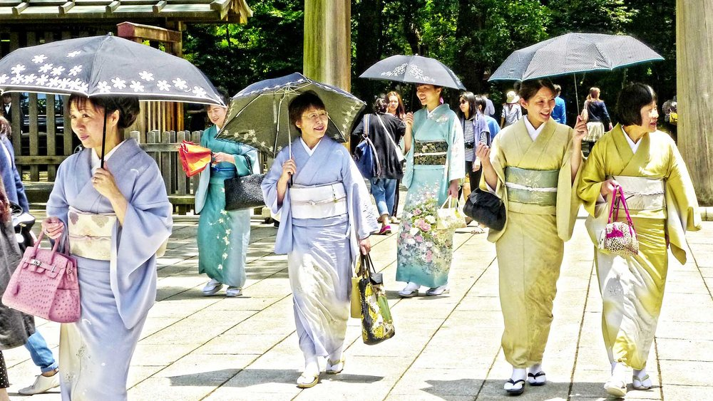 Smiling Japanese