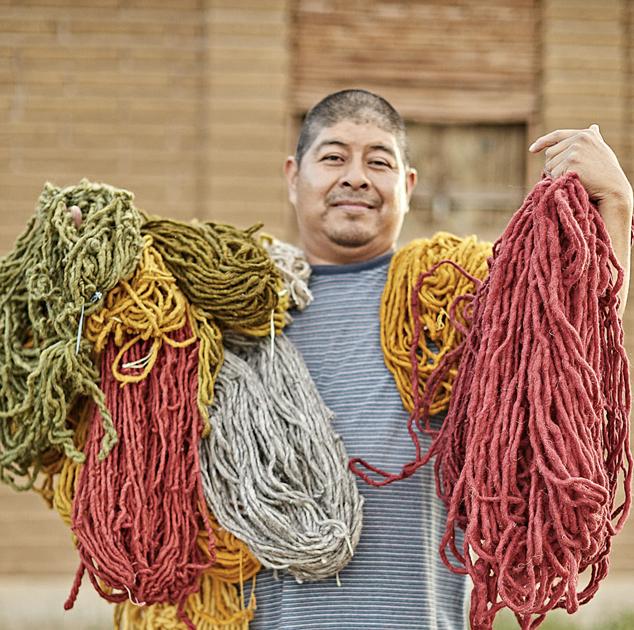 Antonio   Madda Studio Weaver  Weaver in Teotitlan del Valle