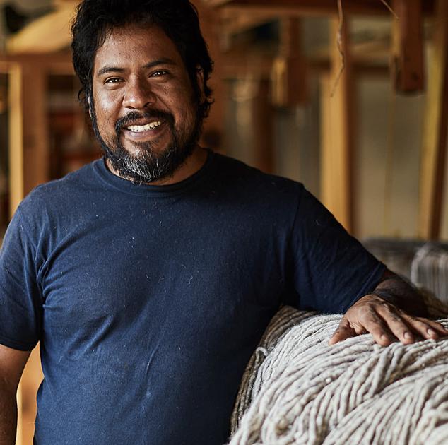 Julian   Madda Studio Weaver  Weaver in Teotitlan del Valle