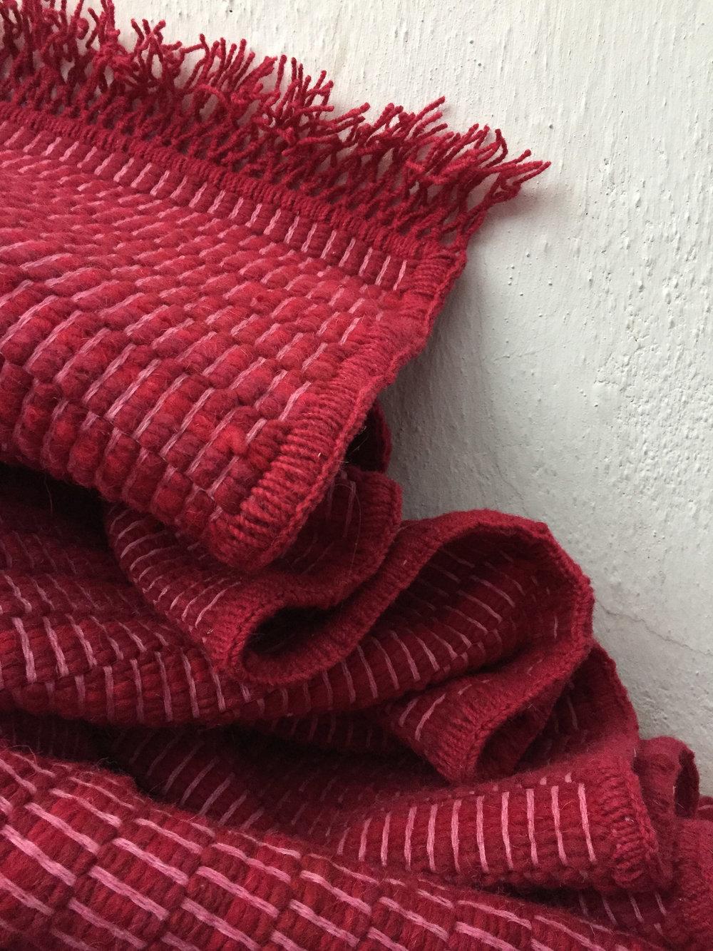 Madda Studio Cochineal Handwoven