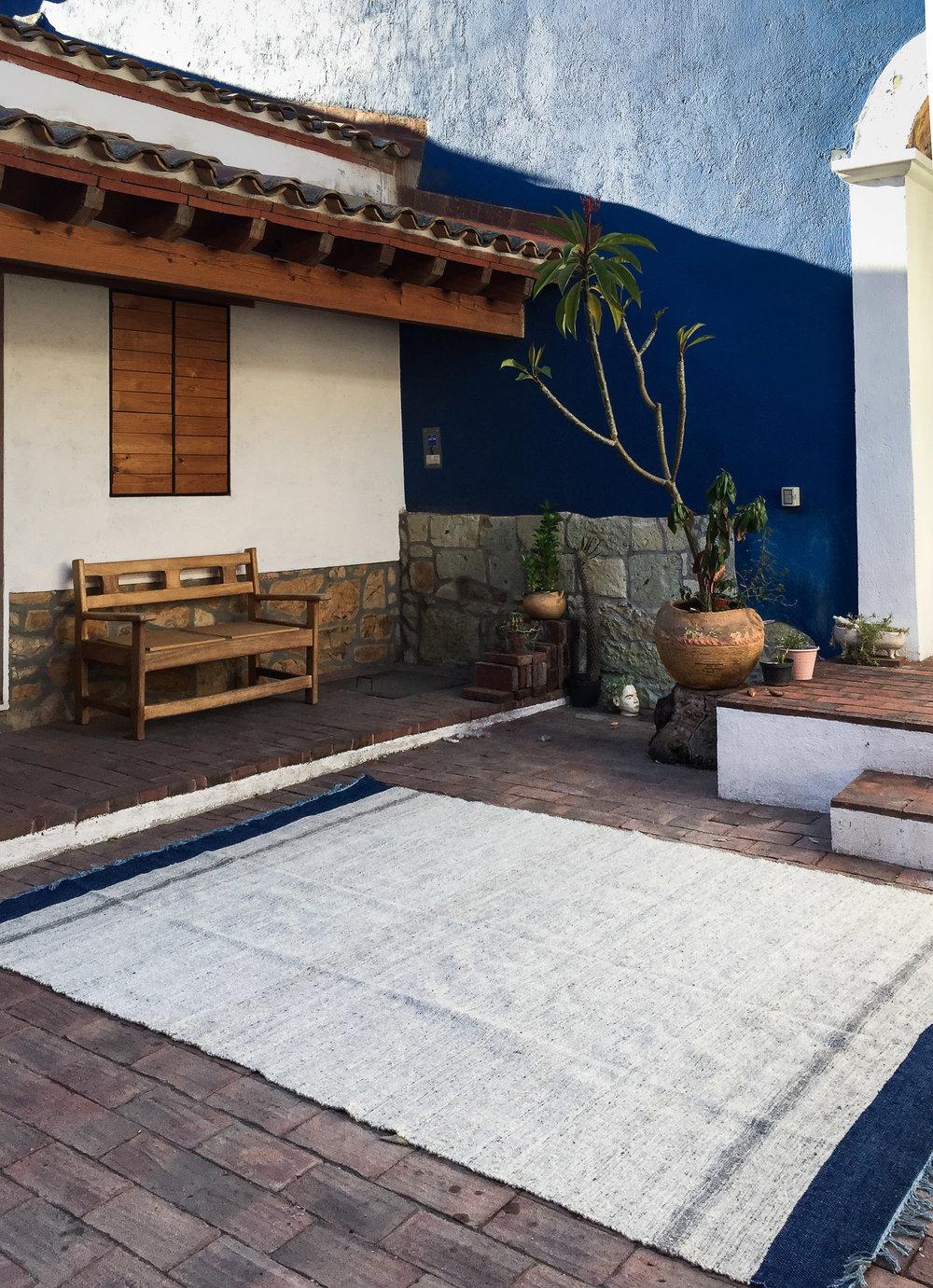 Madda Studio Handwoven Wool Rug Made in Oaxaca Mexico