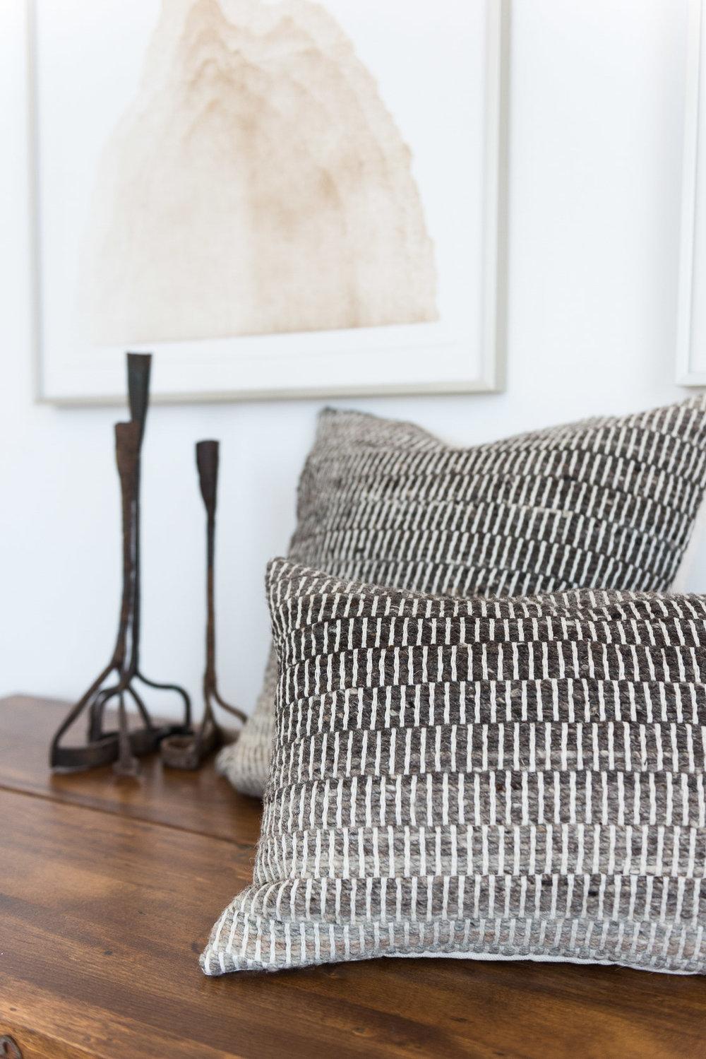 Madda Studio Handwoven Pillow