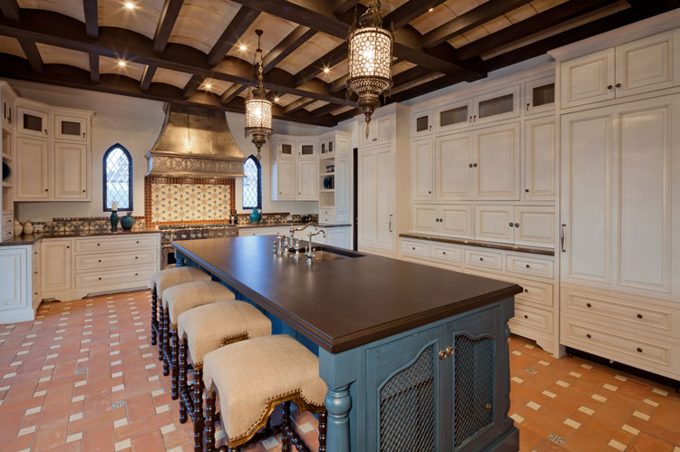 Spanish-Revival-Kitchen-Island-Beamed-Ceiling-Premier-General-Contractors.jpg