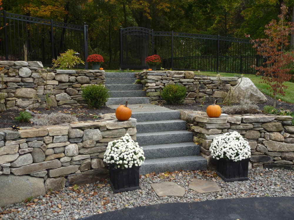NE Field Stone Wall with Woodbury Granite Steps.JPG