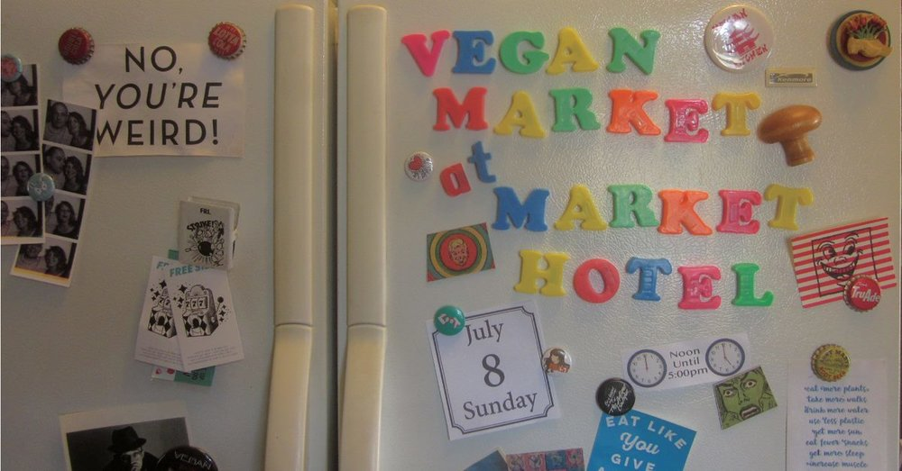 A monthly indoor pop up market with some of the areas best vegan vendors. There is plenty of food but also apparel, bath & body products, and cosmetics. All of our vendors are 100% vegan all of the time not just vegan for the day. We are an all ages event with a full bar for those over 21 so bring your ID if you want to drink. As always admission is free. Spend the day with us and have some fun, you'll be glad you did.
