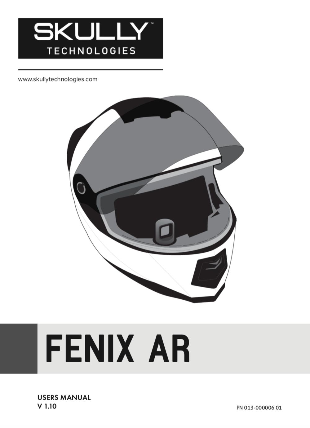 Skully Fenix AR Manual