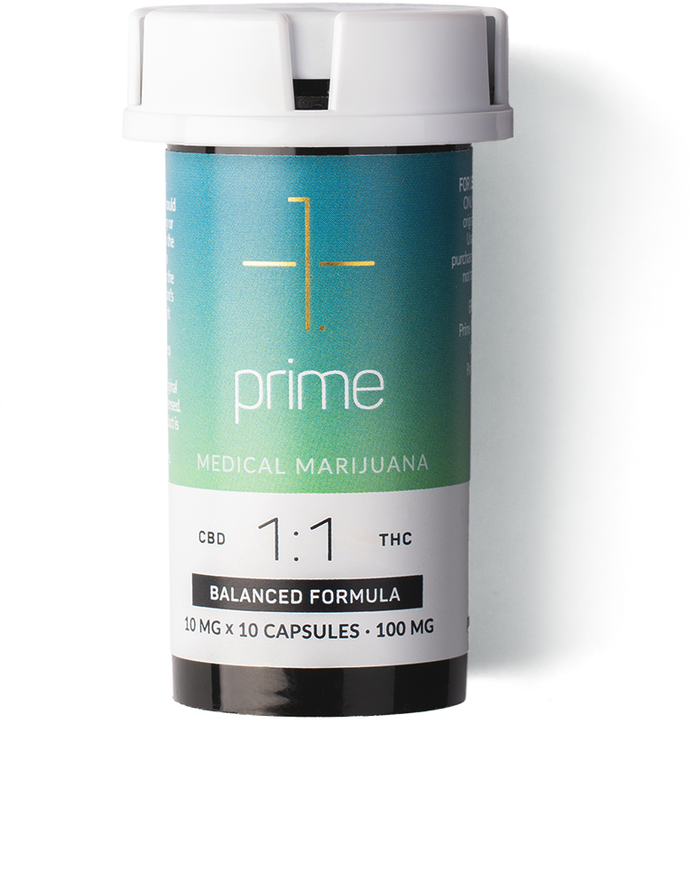 Medical Marijuana - Capsules Bottle 01.png