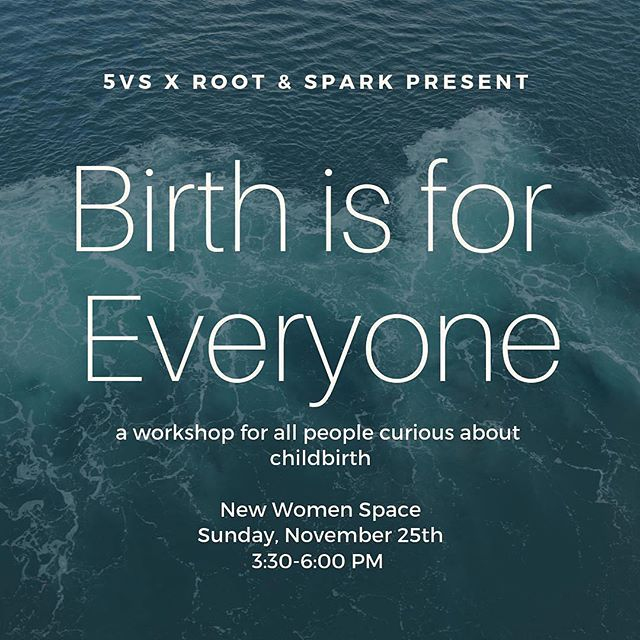 Hey R&S community! We are so excited to join forces with the powerful duo behind @thefifthvitalsign and the folks at @newwomenspace to present Birth is For Everyone! Join us as we explore how we are born, illuminate how it works, chat about how it affects ALL of us, and how and why it is so wonderful to understand it and to support it. ❤️🌎🌍💫