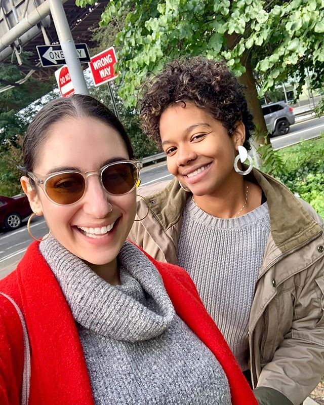 Reconnecting after our first busy and beautiful summer as a team. This work is hard! And fun! And weird! The best part of working together? We lead with our friendship and belief in each other. Snapped this selfie for one of our clients yesterday after a great afternoon of making Big Plans.