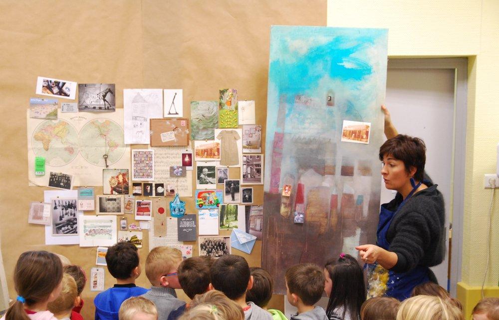 Résidence dans une école primaire