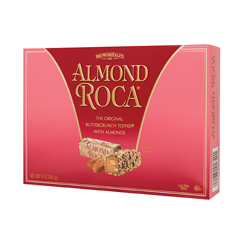 0134 5 OZ ALMOND ROCA® - Left-facing View
