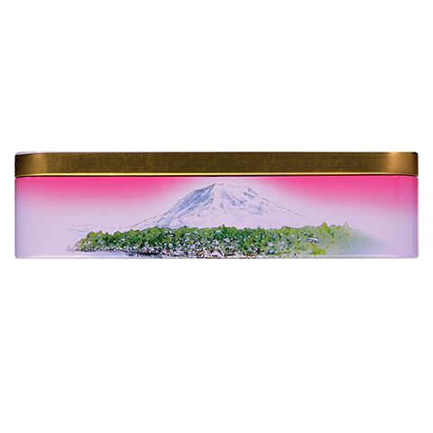 0355 14 OZ ALMOND ROCA® KEEPSAKE TIN - Top-side View