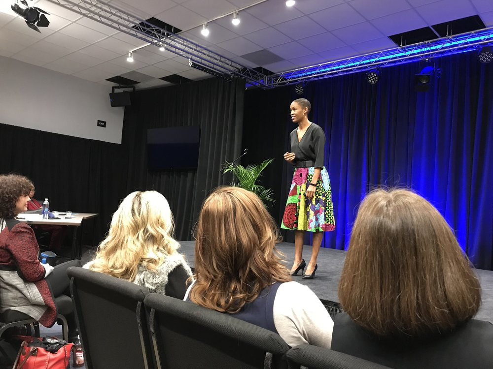 "Why you need a great coach - ""Natalie knows what it takes to write and deliver a powerful speech. She helped me break down a keynote speech to get to its purpose. Then, she coached me on how to rebuild it to make it as impactful as possible. She did this with care, honesty and eagerness. My speech is exponentially better after working with Natalie.""-Candace Doby, Keynote Speaker"