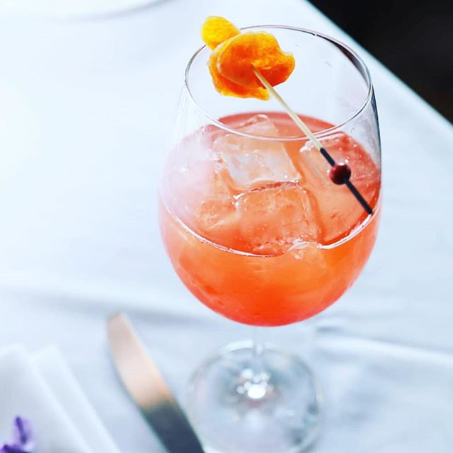 Currently craving a unique and refreshing Tangerine Spritz.